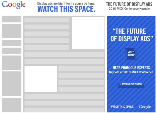 the future of display of ads google