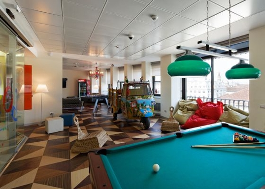 google office in milan puhkeruum