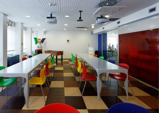 google office in milan nõupidamise ruum